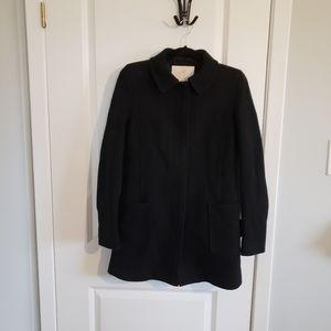 SUNDAY BEST Black Wool Coat